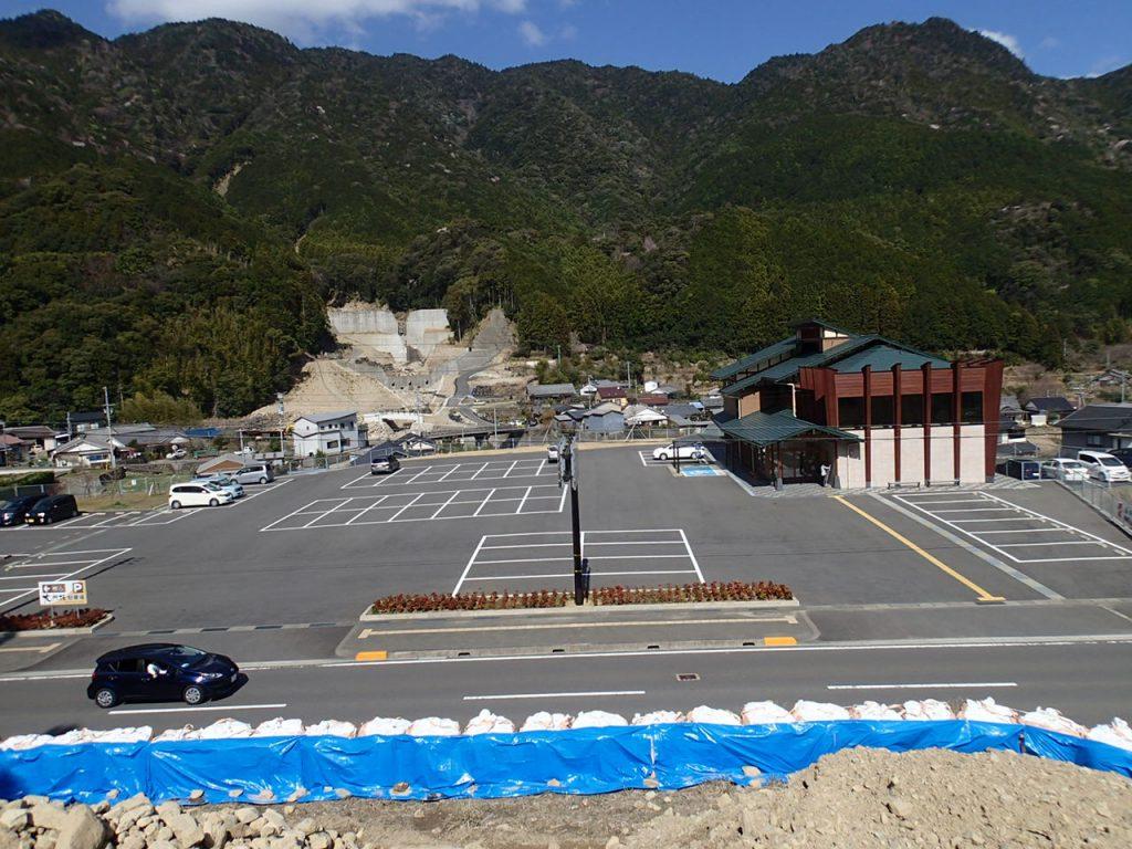 大門坂駐車場整備工事