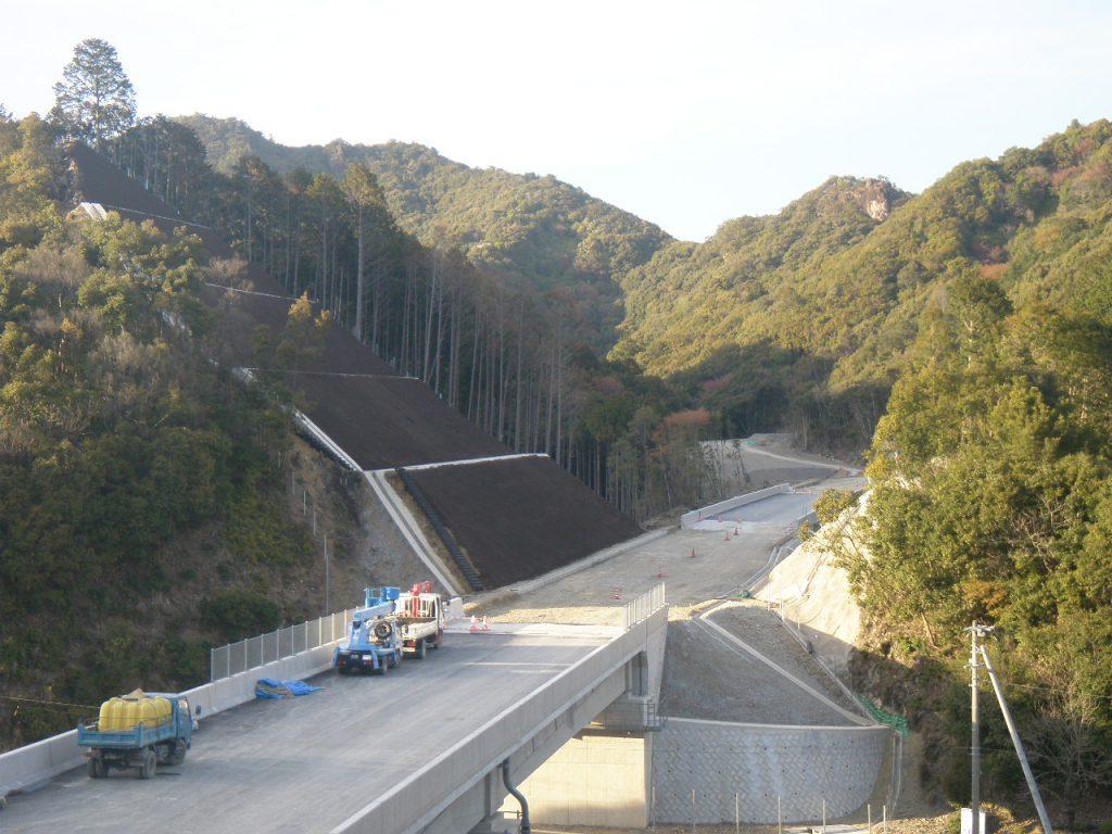 那智勝浦道路橋ノ川東地区改良工事